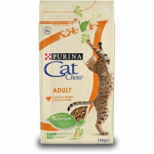 Cat Chow Adult Pollo & Pavo Blister  6x1,5 Kg
