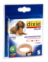 DIXIE GS Collar antiparasitario Beige