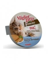 Migliorgatto Sterilized Mouse de Pescado 85 gr.