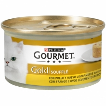 Gourmet Gold Soufflé con Pollo 85g (Pack 24 Uds.)