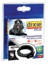 DIXIE GS Collar antiparasitario Negro