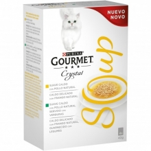 Gourmet Crystal Soup Pollo Pack 10(4x40g)