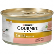 Gourmet Gold Mousse Salmon 85g ( Pack 24 uni )