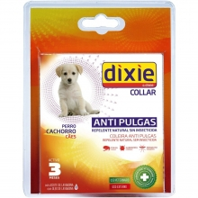 DIXIE GS collar repelente antipulgas cachorros