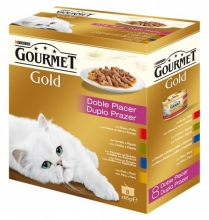 Gourmet Gold Doble Placer Pack 8x85g